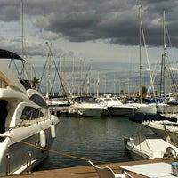 Foto tomada en Puerto deportivo Marina de las salinas por Olga  R. el 9/29/2013