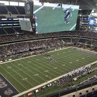 Photo taken at AT&T Stadium by Edward M. on 12/22/2012