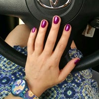 Photo taken at Pink Nail Lounge by Anastasia K. on 7/30/2015