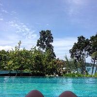Photo taken at Pullman Phuket Arcadia Pool by Jasmine P. on 8/8/2014
