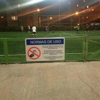 Photo taken at Complejo Deportivo Y Recreativo FCAB by Patricio A. on 8/4/2013