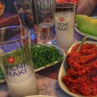 Photo taken at Fethiye Balik Pazari Mercan Balik Raki by HacıMehmet on 9/11/2016