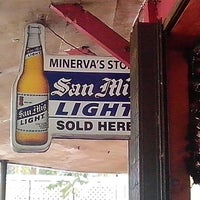 Photo taken at Minerva's by Joanne R. on 12/14/2012