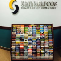 Photo taken at San Marcos Chamber of Commerce by Pam R. on 9/20/2016