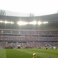 Photo taken at Donbass Arena / Донбасс Арена by Andrii B. on 7/29/2013
