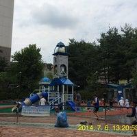 Photo taken at 창현리물놀이터 by Sim M. on 7/6/2014