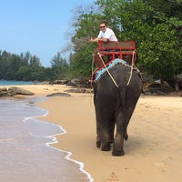 Photo taken at Khaolak Emeral Beach Resort & Spa by Дима R. on 1/3/2014