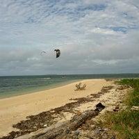 Photo taken at Kite Surfing by Stuart G. on 8/10/2014