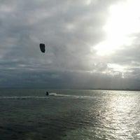 Photo taken at Kite Surfing by Stuart G. on 6/14/2013