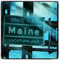 Photo taken at Maine State Line by Fritz C. on 3/23/2013