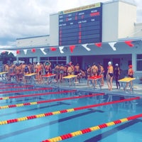 Photo taken at South Broward High Aquatic Complex by Zak  M. on 9/3/2014