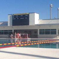 Photo taken at South Broward High Aquatic Complex by Zak  M. on 5/22/2014