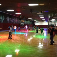 Photo taken at Super Wheels Skating Center by Dora S. on 3/21/2013