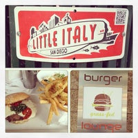 Photo taken at Burger Lounge Little Italy by Dora S. on 6/23/2013