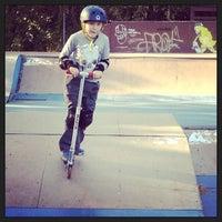 Photo taken at Coconut Grove Skatepark by Dora S. on 2/3/2013