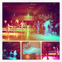 Photo taken at Super Wheels Skating Center by Dora S. on 3/21/2013