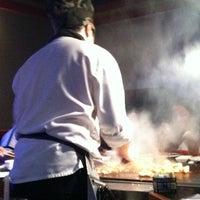 Photo taken at Kobe Japanese Steakhouse & Sushi Bar by Denise M. on 4/14/2013