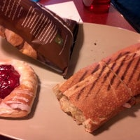 Photo taken at Panera Bread by Josue S. on 11/7/2012