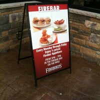 Photo taken at Firebirds Wood Fired Grill by Dave S. on 11/10/2012