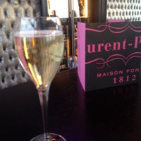 Photo taken at Laurent Perrier Champagne Bar by Nigel H. on 5/3/2014