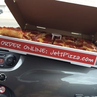 Photo taken at Jet's Pizza by Jessica P. on 3/17/2014