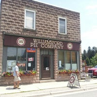Photo taken at Williamsford Pie Company by Andrew B. on 6/24/2013