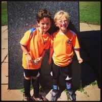 Photo taken at Stoddert Soccer @ Carter Baron Fields by Stephen D. on 9/7/2013