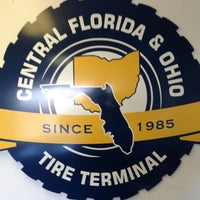 Photo taken at Florida Tire Terminal (Production Location) by TJ J. on 1/30/2013