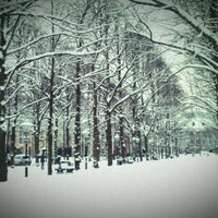 Photo taken at Lange Voorhout by Meииo on 1/15/2013