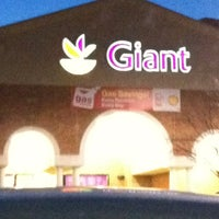 Photo taken at Giant by Meredith M. on 1/27/2013