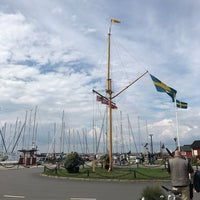 Photo taken at Skanörs Hamn by Maria S. on 7/14/2017