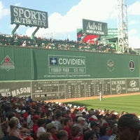 Photo taken at Fenway Park by Bryan K. on 7/4/2013