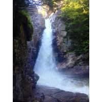 Photo taken at Glen Ellis Falls by Bre T. on 8/15/2014