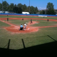 Photo taken at Stadio Passo Buole by Andrea G. on 8/11/2013