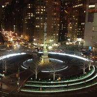 Photo taken at Columbus Circle by Kai on 3/15/2013