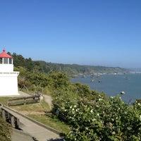 Photo taken at Trinidad Memorial Lighthouse by Sakinah J. on 6/10/2013
