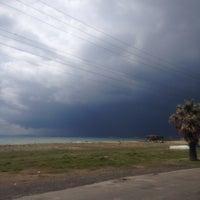 Photo taken at Sarımsaklı Mit Kampı Plajı by Hüseyin D. on 3/19/2016
