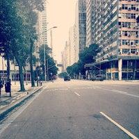 Photo taken at Avenida Rio Branco by Andre M. on 7/28/2013
