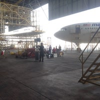 Photo taken at MAS Hangar 6 AMU Line 4 by Faisal G. on 4/11/2016