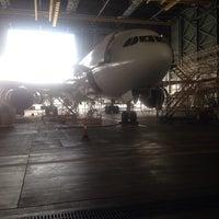 Photo taken at MAS Hangar 6 AMU Line 4 by Faisal G. on 3/28/2016