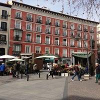 Photo taken at Plaza de Tirso de Molina by Ed K. on 3/2/2013
