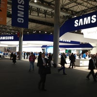 Photo taken at Mobile World Congress 2013 by Ed K. on 2/28/2013