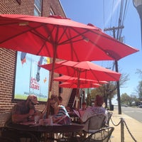 Photo taken at Pleasant City Wood Fired Grill by Stephanie D. on 4/13/2013