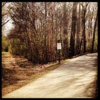 Photo taken at Suwanee Creek Park by Kate L. on 4/6/2013