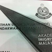 Photo taken at Dewan Kuliah AIMM by Vikneshwaran A. on 6/24/2013