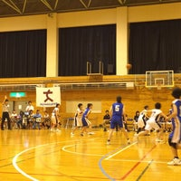 Photo taken at 函館市立湯川中学校 by Shinya Y. on 6/29/2015