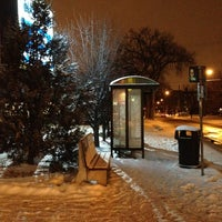 Photo taken at Bus Stop by Steven J. on 2/3/2013