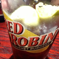 Photo taken at Red Robin Gourmet Burgers by Dale M. on 1/28/2013
