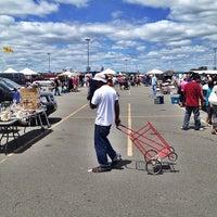 Photo taken at Meadowlands Flea Market by Matt V. on 6/9/2013