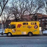 Photo taken at JJ's Hot Dog Truck by Matt V. on 1/7/2013